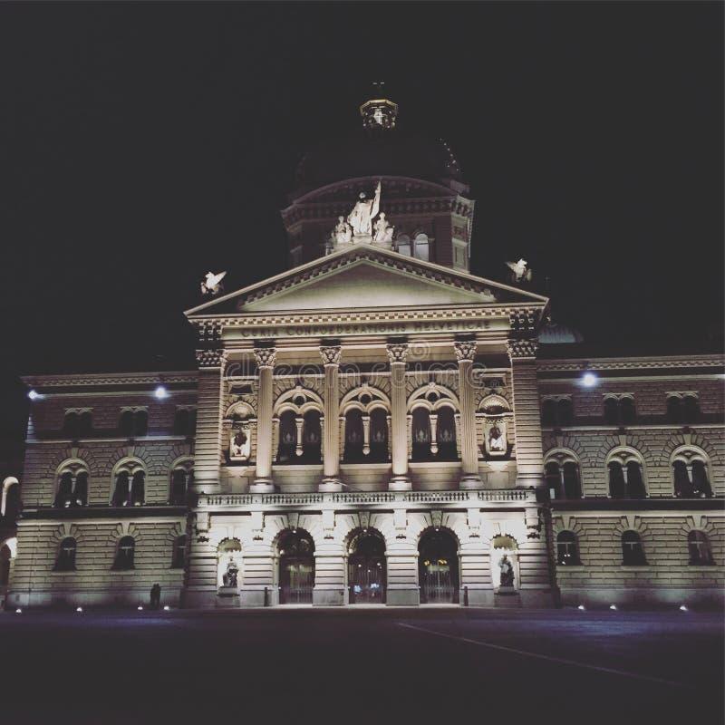 Federacyjny Palace/Bundeshaus/Palais Federal/Palazzo Federale w Bern Szwajcaria obrazy royalty free