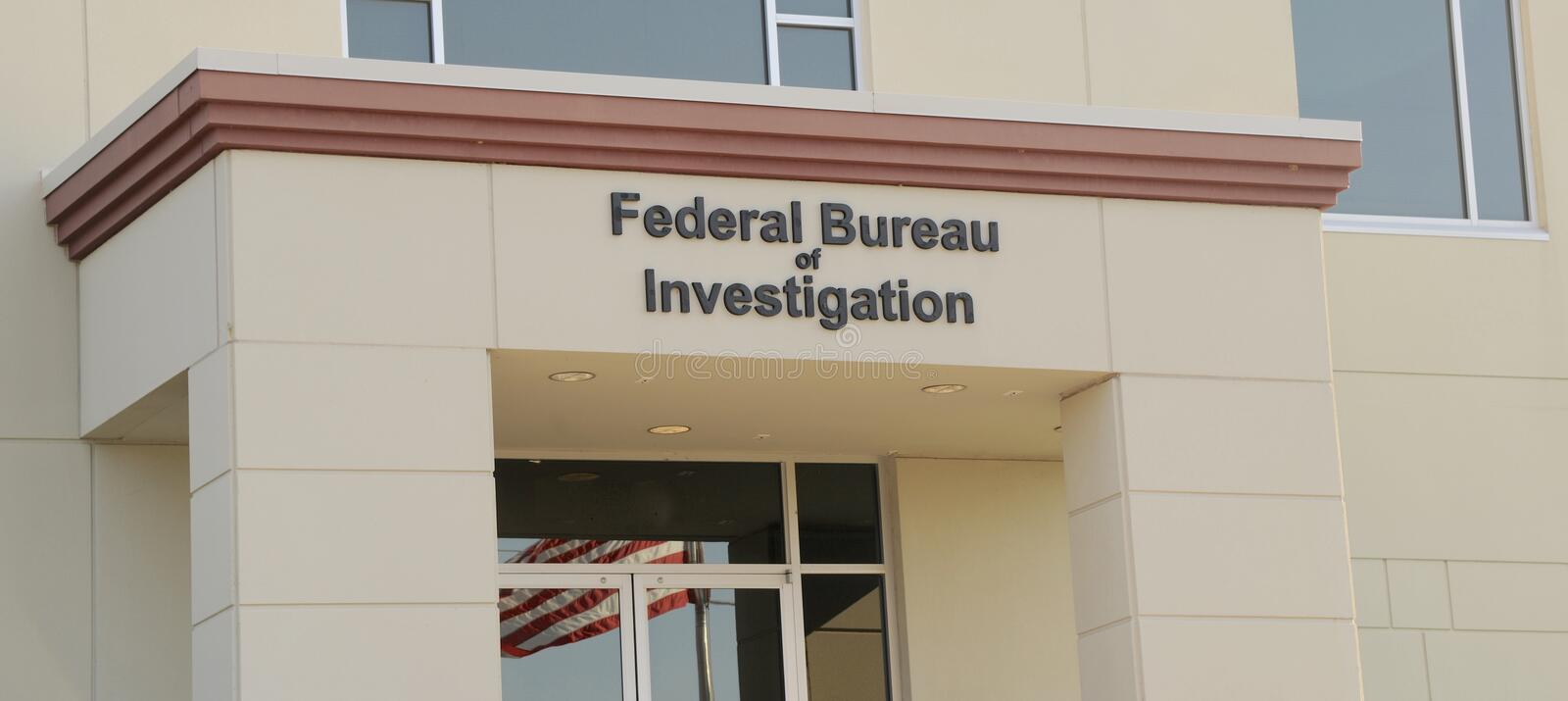 Federal Bureau of Investigation. FBI headquarters building located outside of Nashville, TN royalty free stock photos
