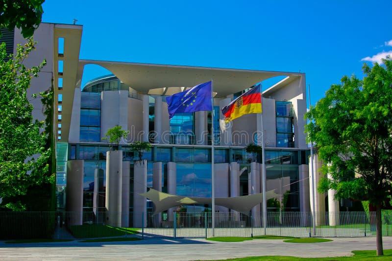 federal chancellery royaltyfria bilder