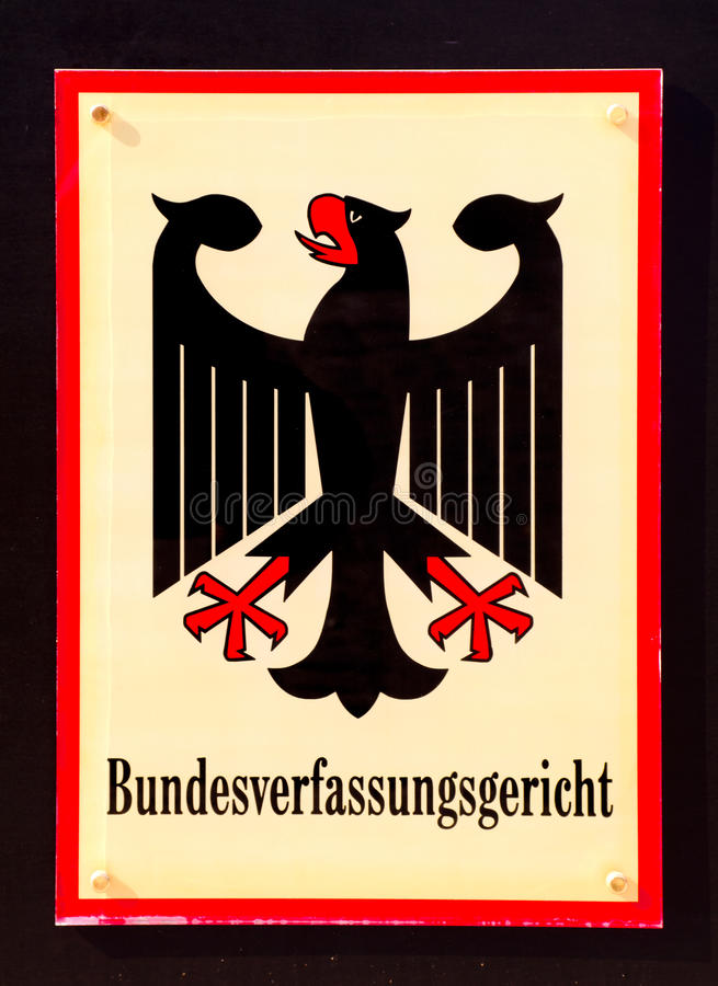 Download Federal Constitutional Court Of Germany Stock Photo - Image: 21452526