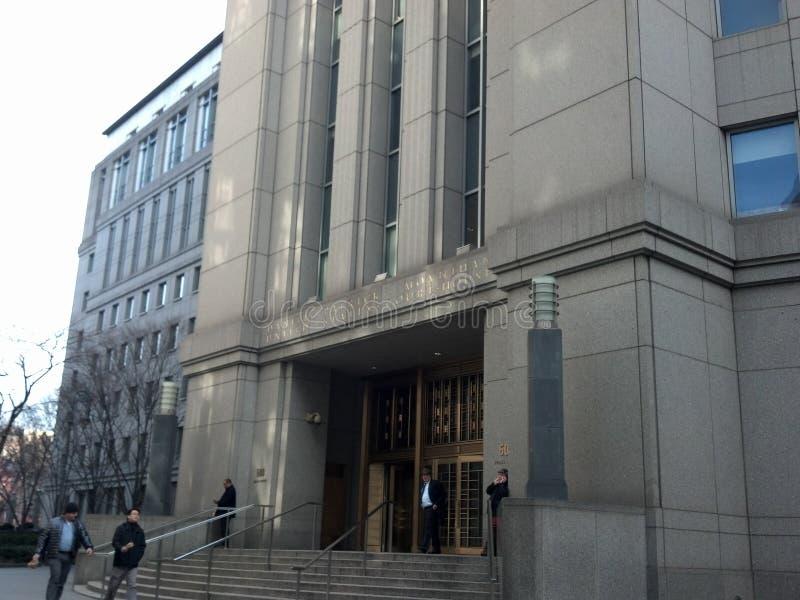 Federal domstolbyggnad fotografering för bildbyråer
