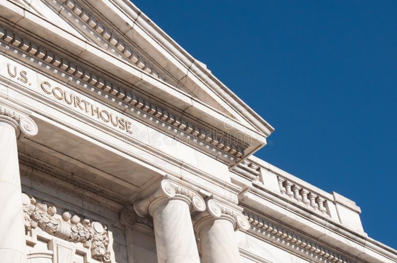 federal domstolsbyggnad royaltyfria bilder