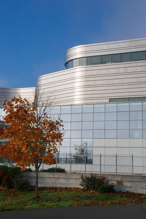 Federal domstolsbyggnad Eugene Oregon arkivfoton