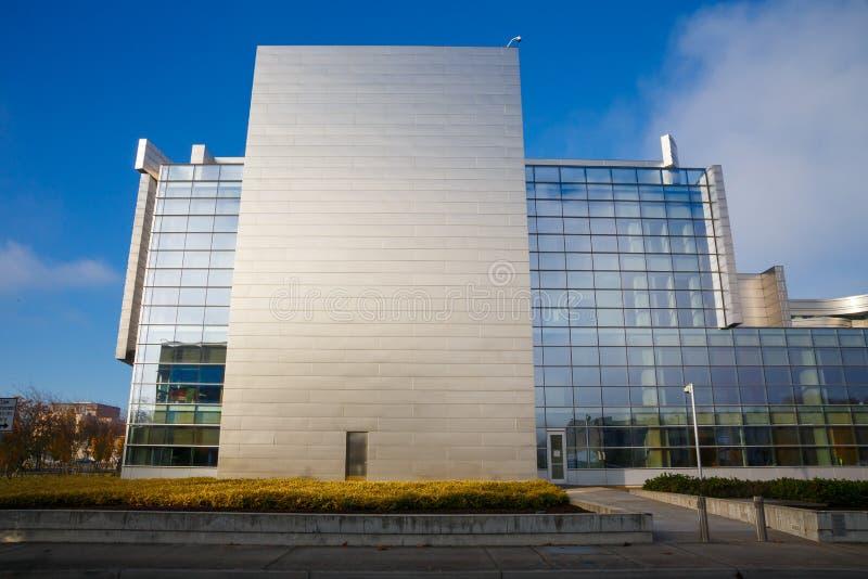 Federal domstolsbyggnad Eugene Oregon royaltyfria bilder