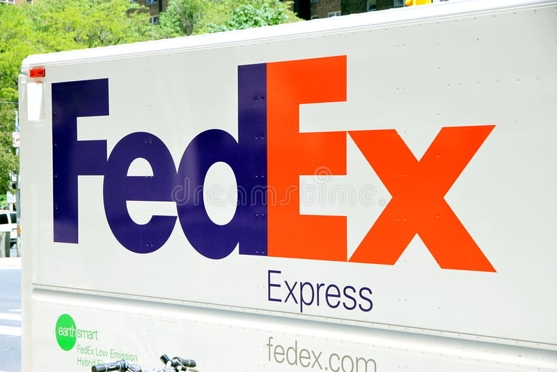 Federal- Expresszeichen lizenzfreie stockfotos