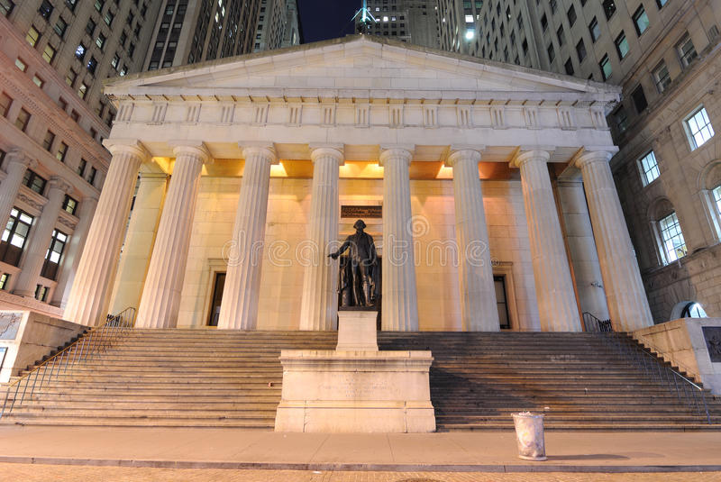 Download Federal Hall stock image. Image of downtown, america - 15197735