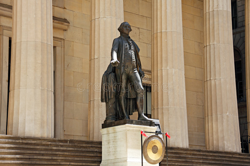 Federal Hall National Memorial royalty free stock images