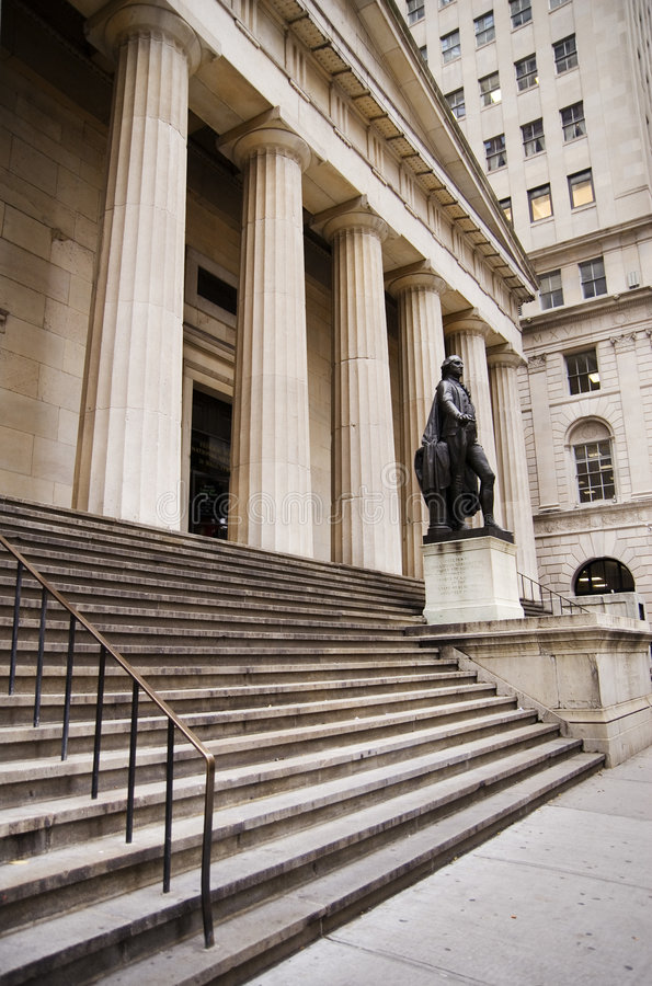 Download Federal Hall NYC editorial photo. Image of banking, exchange - 1932331
