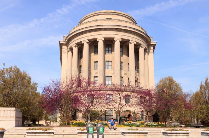 Federal handelskommittébyggnadsWashington DC arkivfoto