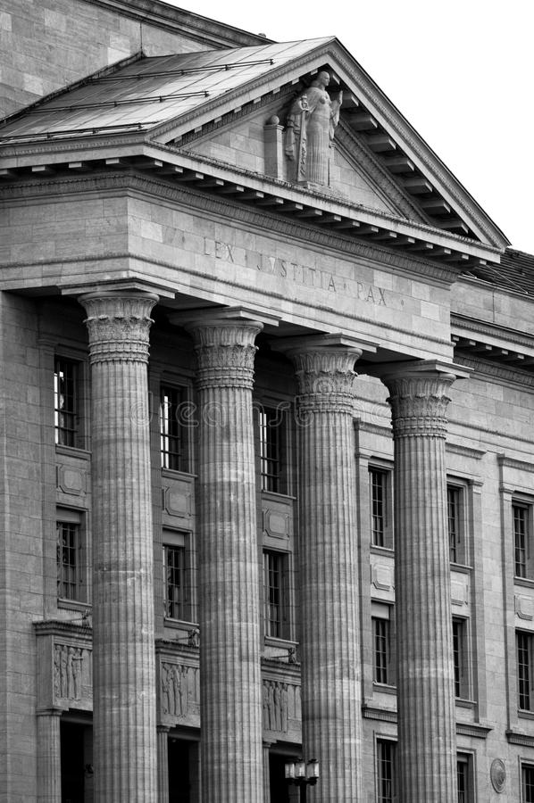 Download Federal Justice, Black And White Stock Photo - Image: 18764770