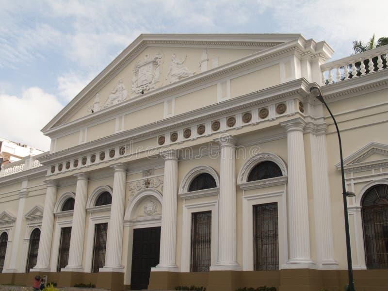 Federal lagstiftnings- slott för venezuelansk nationalförsamling, Caracas royaltyfri foto