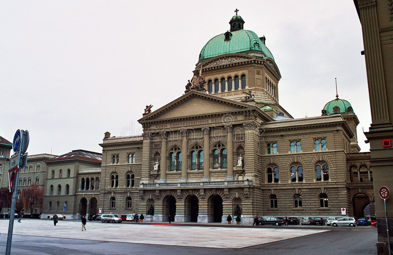 Download Federal Palace Of Bern, Sedates Of The Swiss Gove Stock Image - Image: 8374577