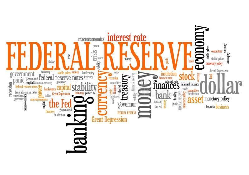 Federal Reserve ilustração do vetor