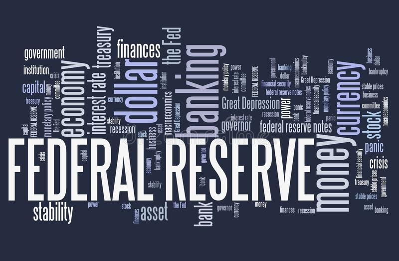 Federal Reserve stock illustratie