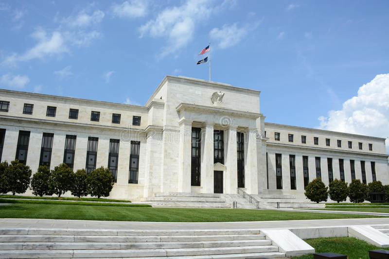 Federal reserve bank royalty free stock images