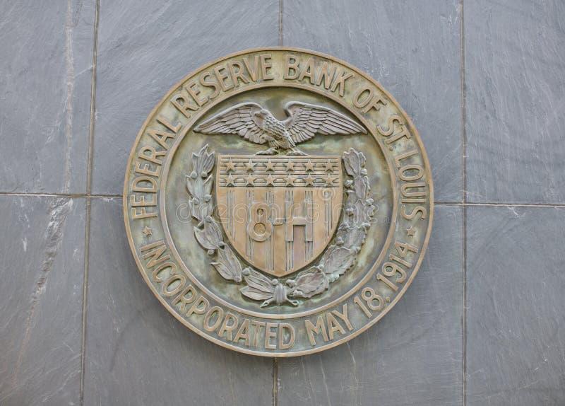 Federal Reserve-Bank von St. Louis lizenzfreies stockfoto