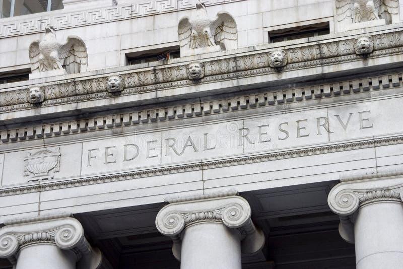 Federal Reserve Facade 2 stock photos