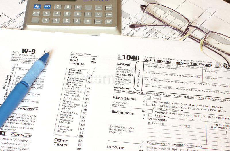 Federal Tax Royalty Free Stock Images
