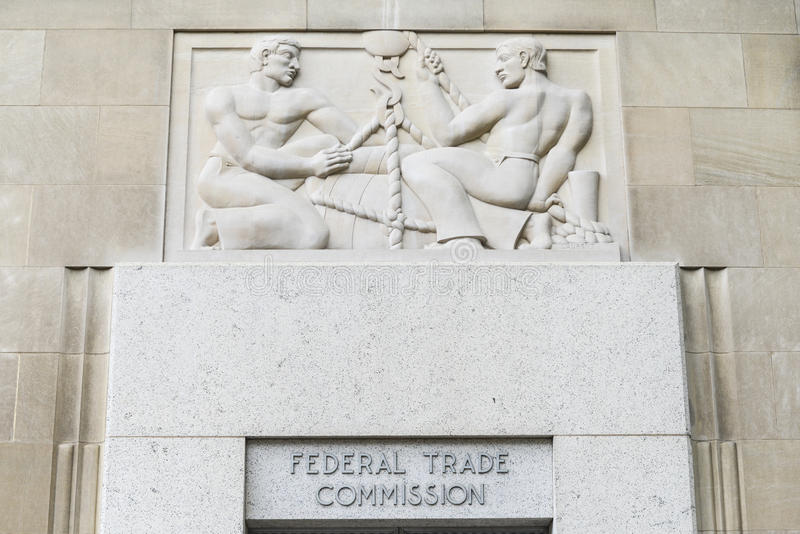 Federal Trade Commission Building. In Washington, DC stock images