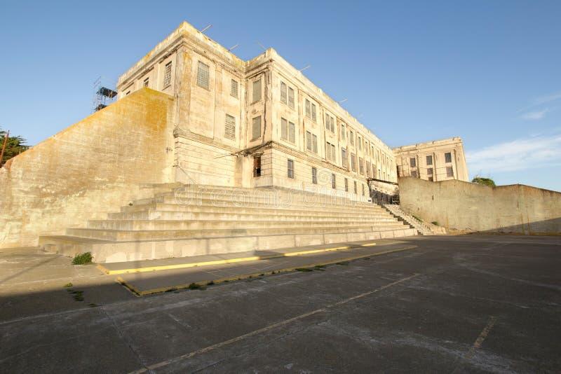 Federale Penitentiary van het Eiland van Alcatraz Gevangenis stock afbeelding