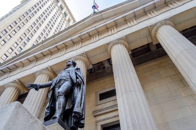 Federale Zaal, De Stad Van New York Royalty-vrije Stock Afbeelding