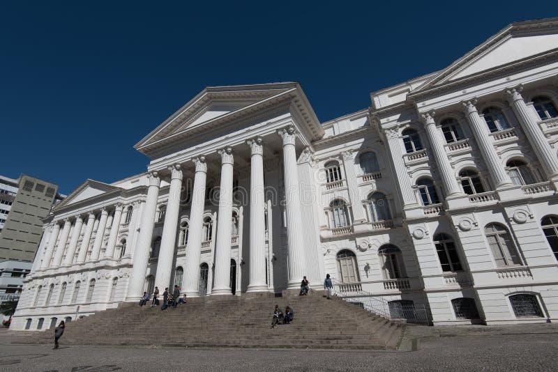 Federalt universitet av den Parana staten arkivfoto