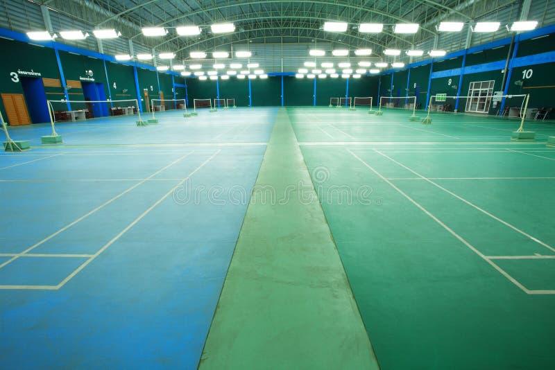 Federballplatz stockfoto