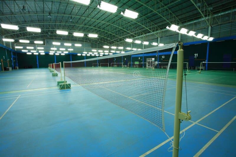 Federballplatz lizenzfreies stockbild