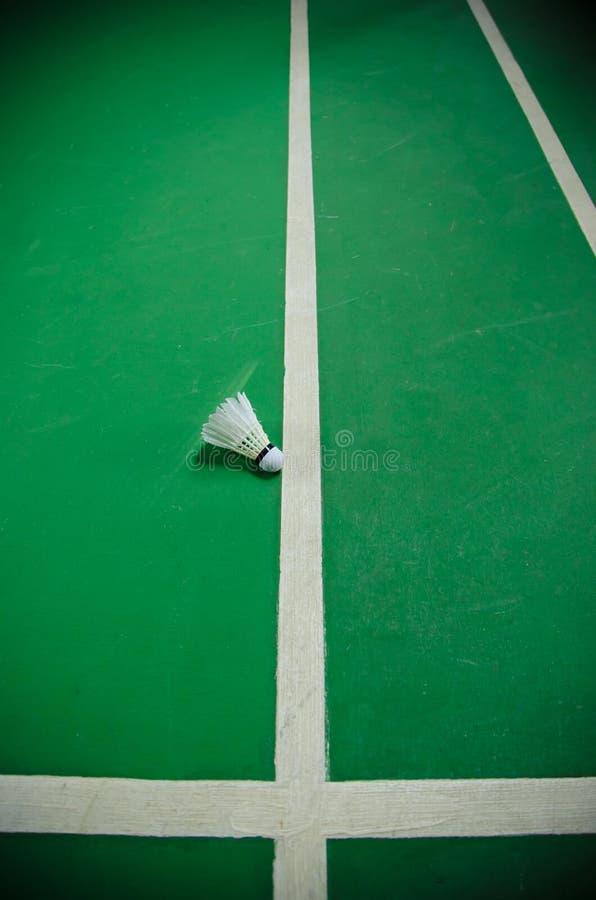 Federballplatz lizenzfreie stockbilder
