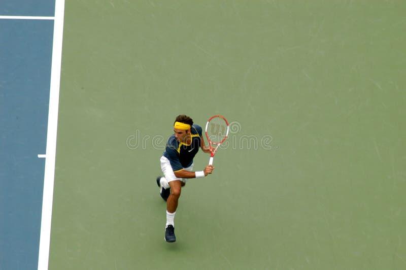 Federer van Rogers stock fotografie