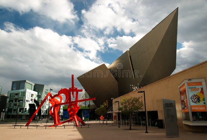 Federico C Edificio de Hamilton, parte de Denver Art Museum fotos de archivo libres de regalías
