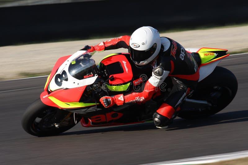 Federico Mandatori - Aprilia RSV4 images stock