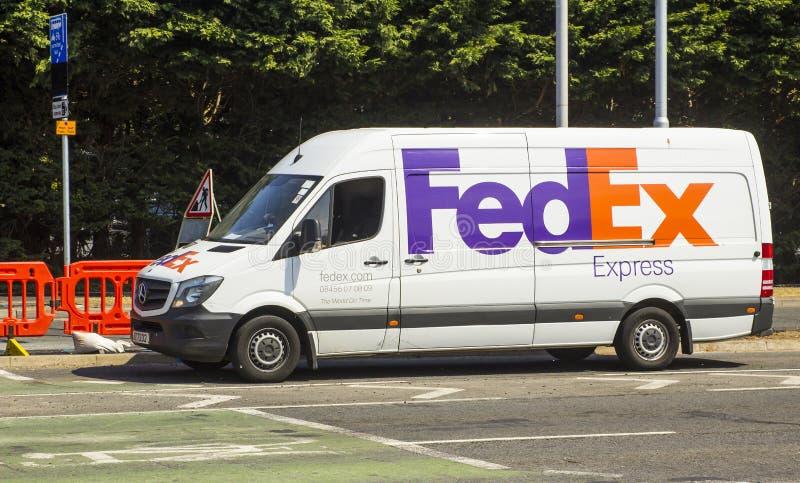 FedEx delivery van editorial image  Image of post, american