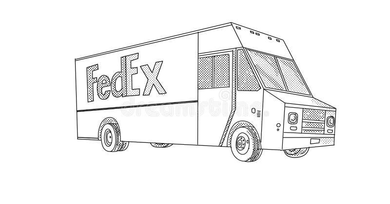 Fedex Stock Illustrations 302 Fedex Stock Illustrations Vectors Clipart Dreamstime