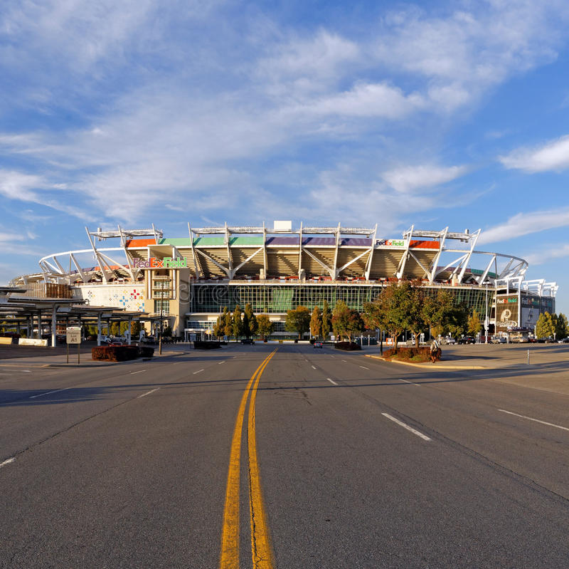 Redskins New Stadium: FedEx Field Editorial Image. Image Of Football, Landover