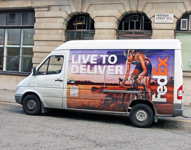 Fedex Van photo stock