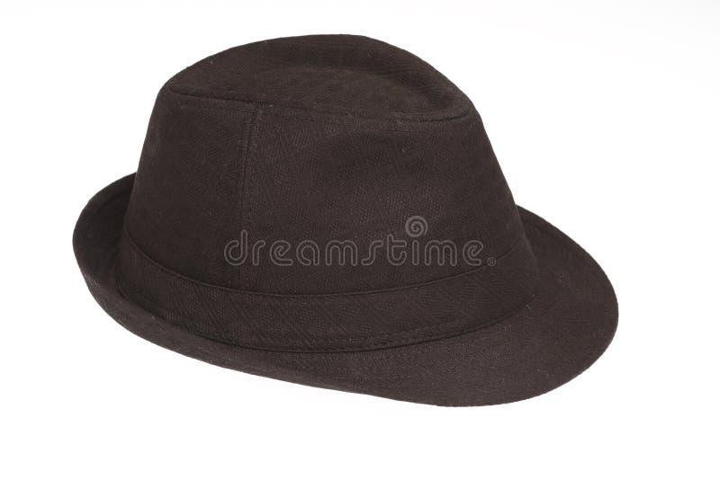 Fedora. A fedora hat isolated on white stock image