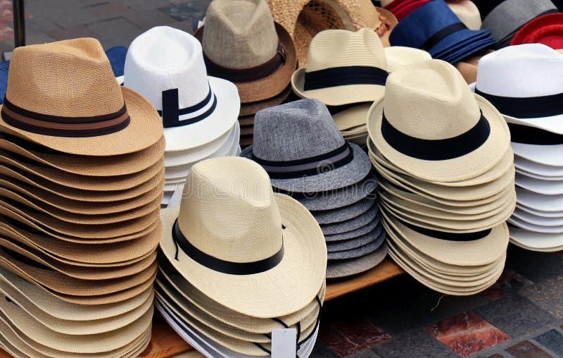 Fedora kapelusze fotografia royalty free