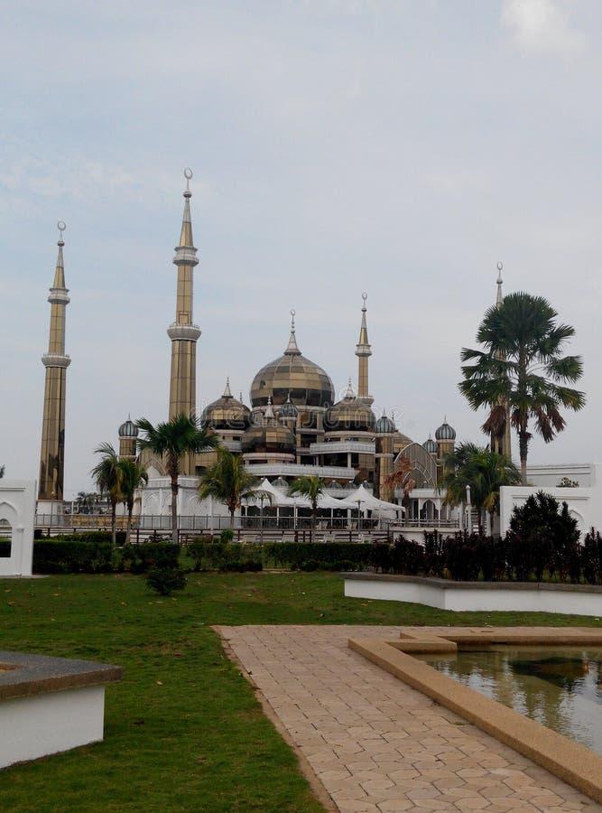 Fee aquatische moskee royalty-vrije stock afbeelding