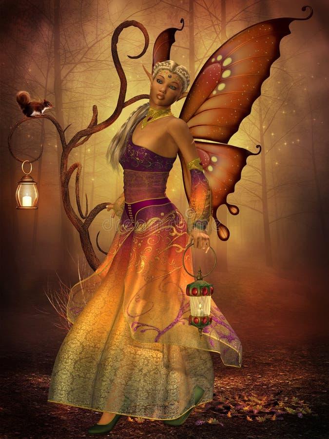 Fee Lilith stock illustratie