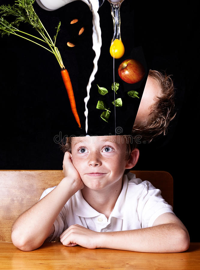 Feed your Brain royalty free stock images