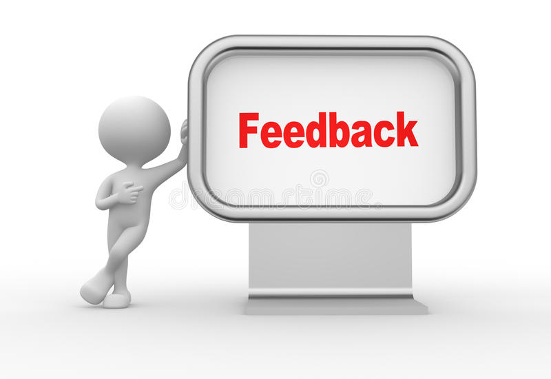 Download Feedback stock illustration. Illustration of idea, feedback - 37924559