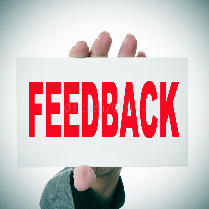 feedback photos stock