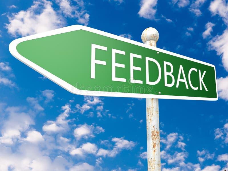 feedback stock abbildung
