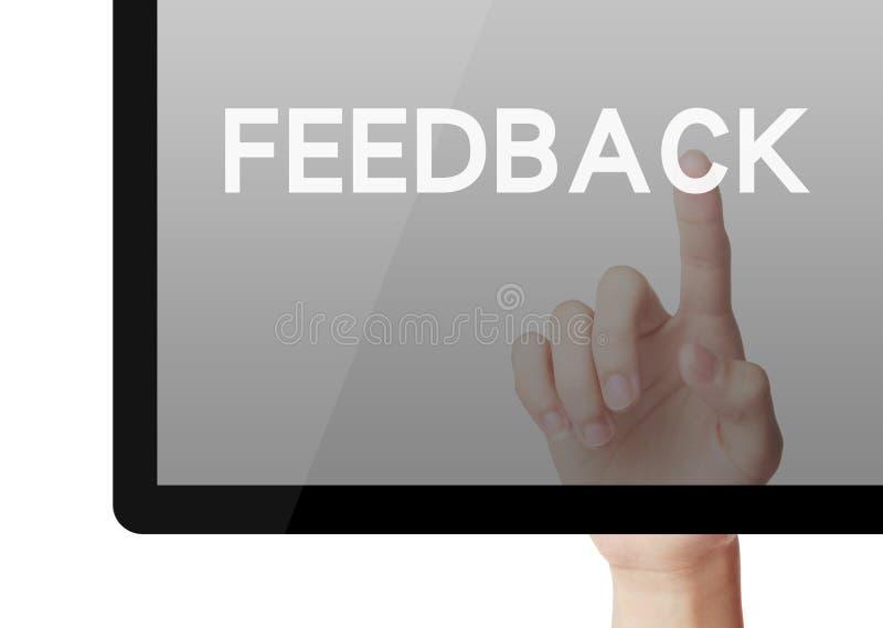 feedback lizenzfreie stockfotografie