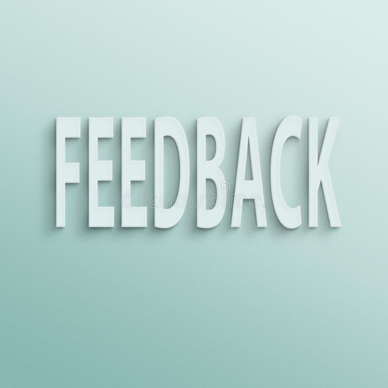 feedback lizenzfreie abbildung