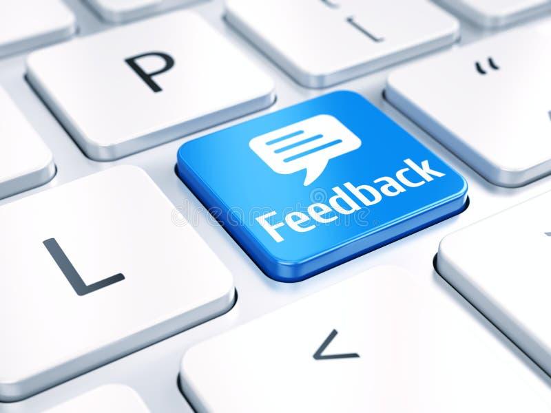 Feedback-Konzept lizenzfreie abbildung