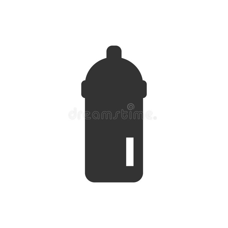 Feeding bottle icon - Vector royalty free illustration