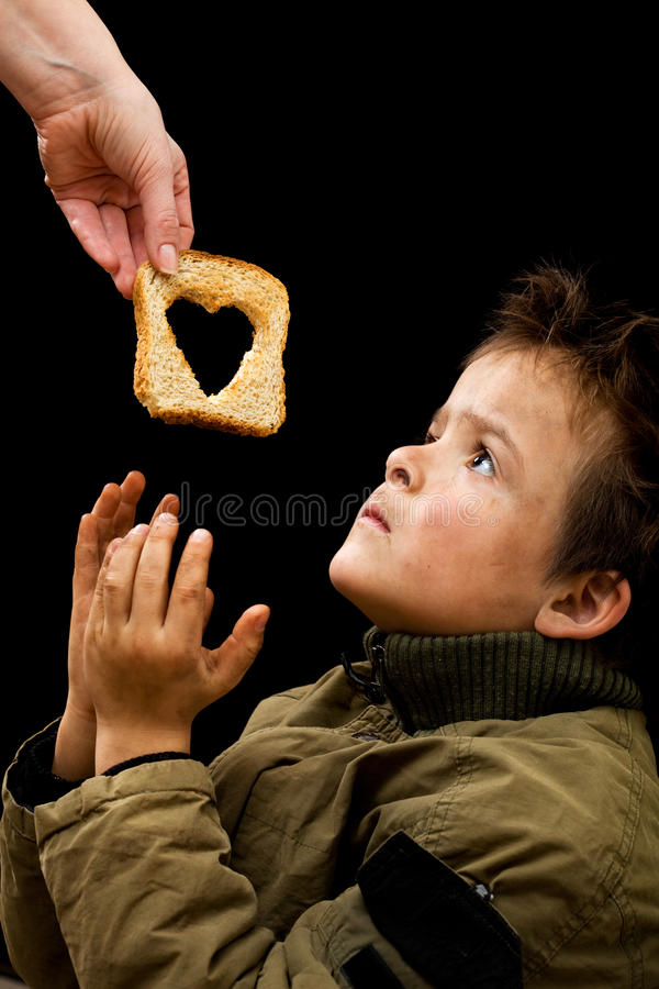Download Feeding the poor stock image. Image of compassion, hygiene - 22470675