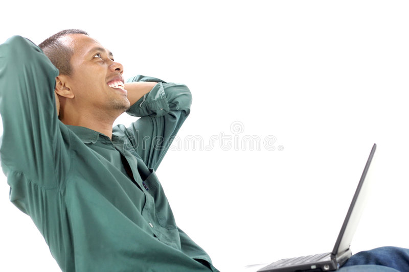 Download Feel comfortable stock photo. Image of successfully, imagine - 7174306